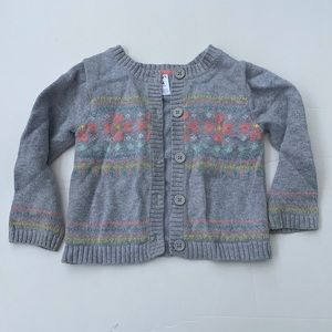 Carter's 24 month knit button down cardigan
